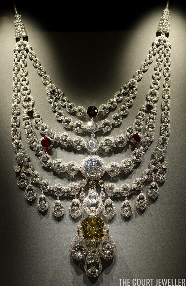 Jewels In Motion The Patiala Necklace The Court Jeweller