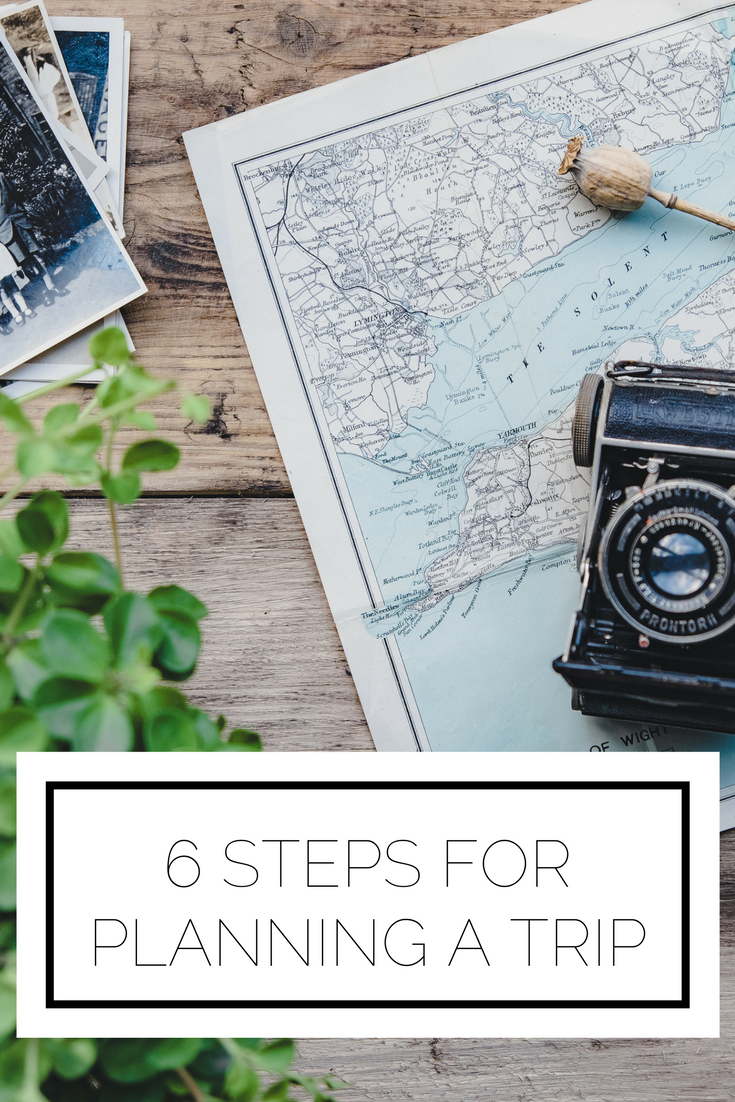 Click to read now or pin to save for later! Here are 6 practical tips to plan a big trip to maximize your time and stay organized