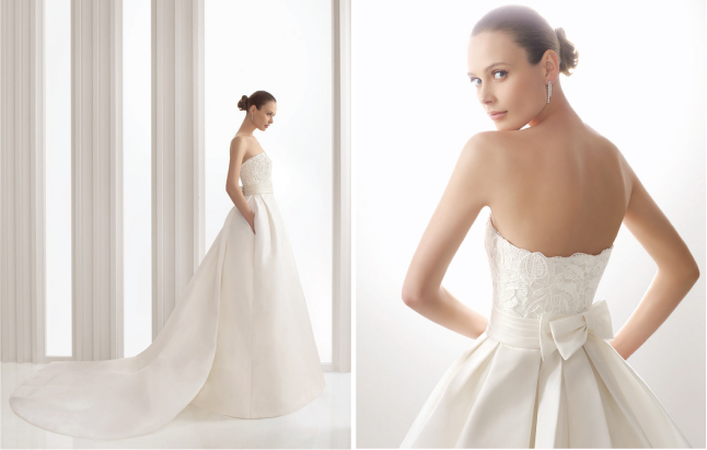 dress wedding 2012