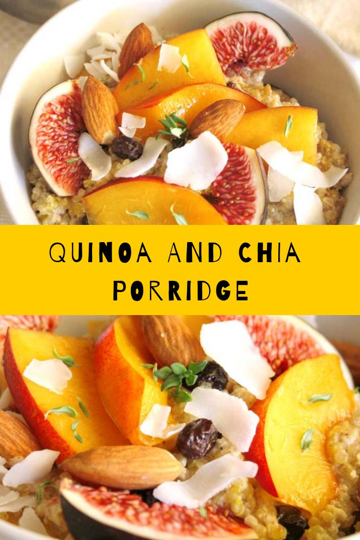 Quinoa and Chia Porridge Recipe