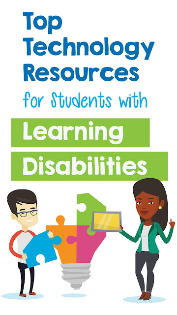 Finding technology resources for special ed teachers that help adapt curriculum and accommodate all of the learners in our classroom is tough sometimes. Lists of assistive tech, apps, websites, and assessment tools all curated with exceptional students in mind. Blog post at Mrs. D's Corner.