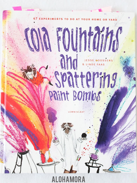 Cola Fountains and Spattering Paint Bombs by Jesse Goossens and Linde Faas is a hands-on sceince experiment book you can do at home with easy to find (if you don't already have them) supplies.  Fun experiments, I like the Why Does it Work and the pics are fun.  The format is challenging at times b/c the instructions are not always clear.  3.5 out of 5 stars in my book review. Science, STEM books, fun for kids, explosions, easy to do for all ages Preschool to 6th grade. Kindergarten, 1st, 2nd, 3rd, 4th, 5th teachers, librarians, parents Alohamora Open a Book www.alohamoraopenabook.blgospot.com