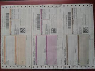 Jenis-jenis borang POS Laju Consignment Note