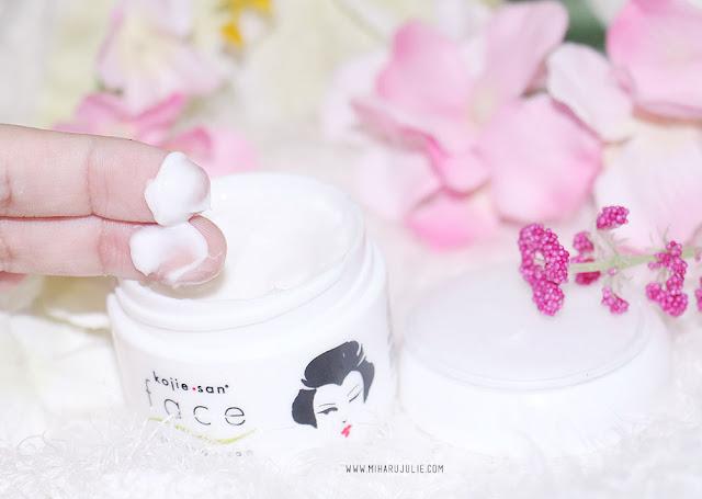Cara Mencerahkan Kulit Dengan Kojie San face Lightening cream