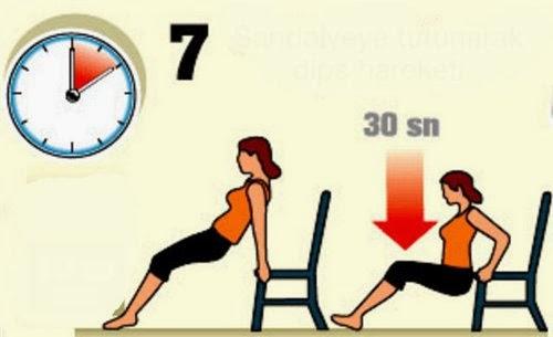 hızlı kilo verme hareketleri