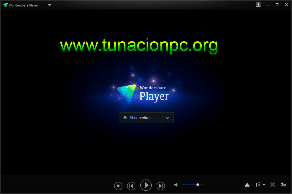 Wondershare Player Final, Reproductor Multimedia