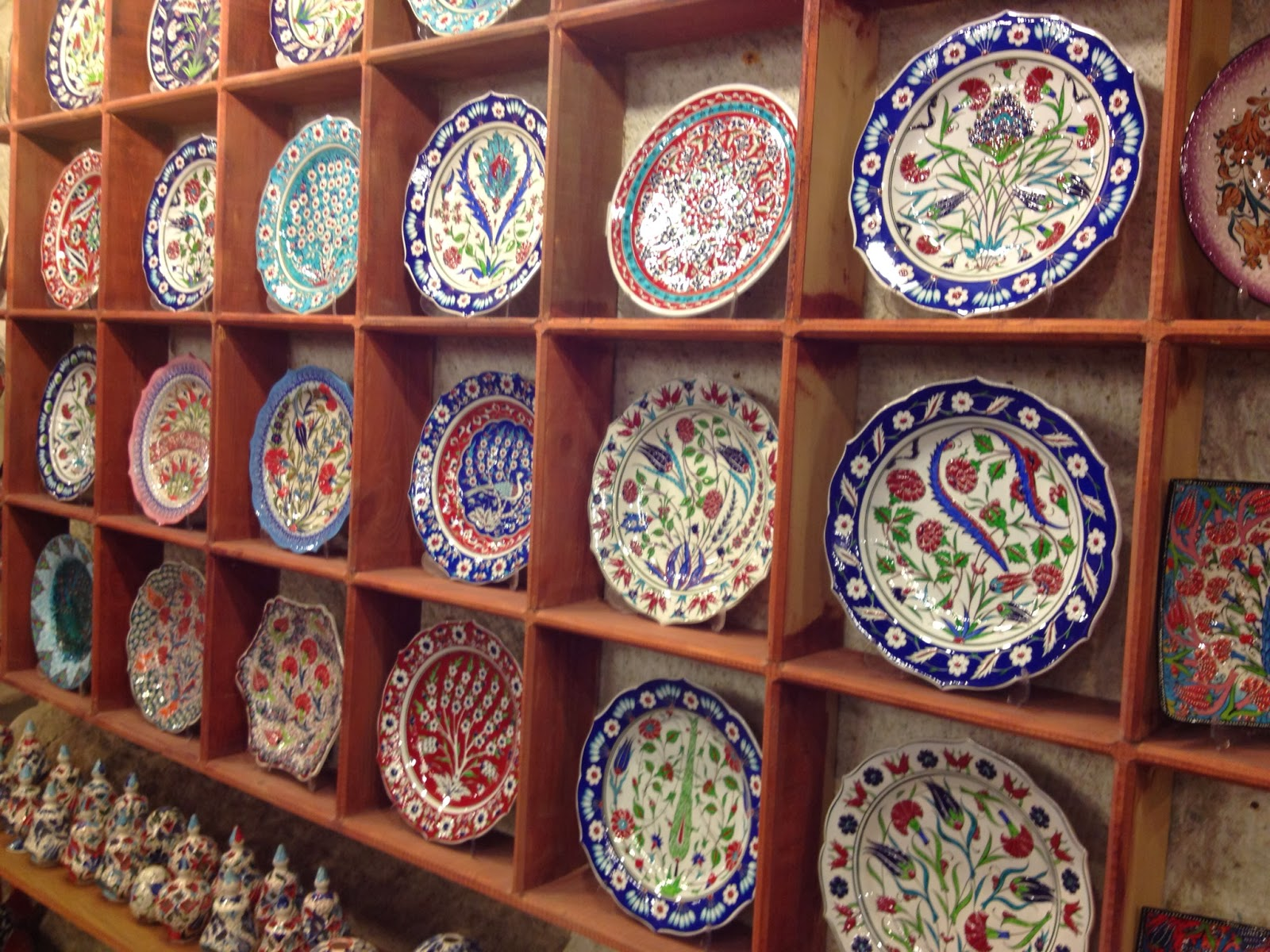 Cappadocia - Hand-painted platters for sale