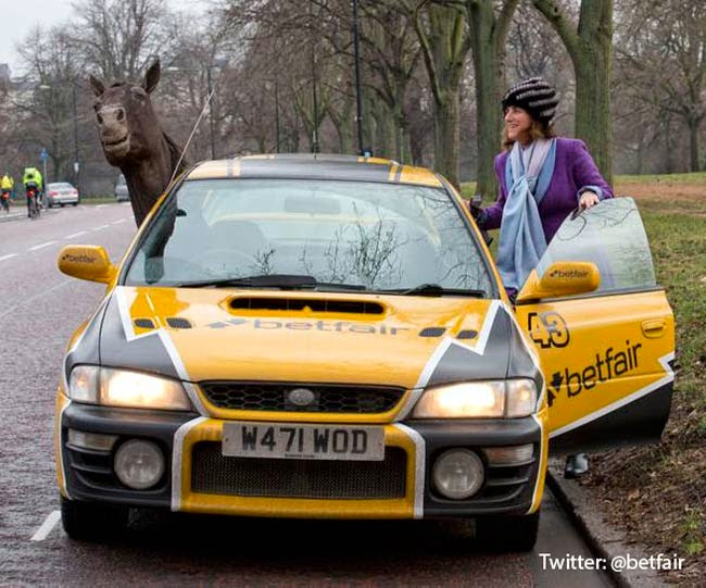 The Betfair Taxis Will Feature In Their New TV Campaign