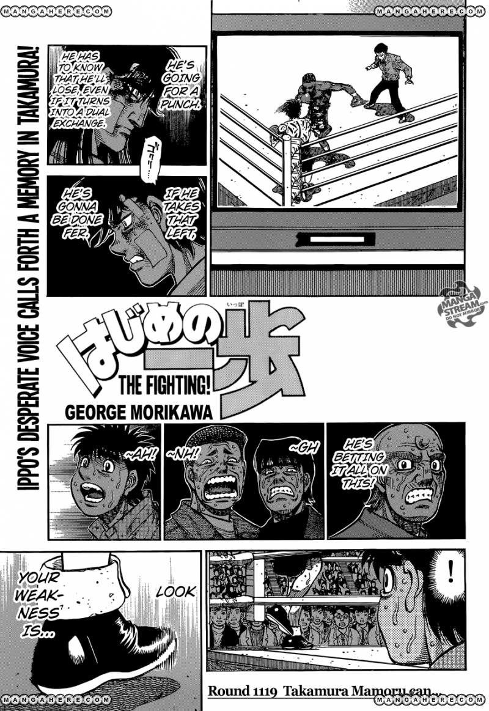 Hajime no Ippo - Chapter 1119