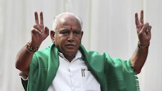 B S Yeddyurappa takes oath as Karnataka CM