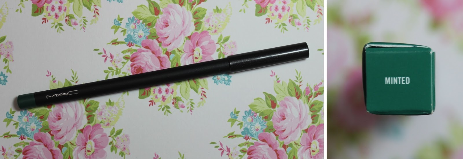 mac minted eye kohl review