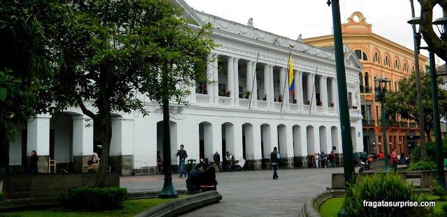 Palácio de Carondelet, sede do governo do Equador