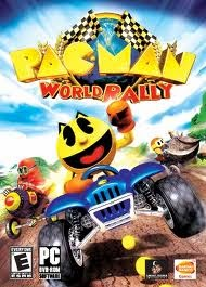 PacMan World Rally Game