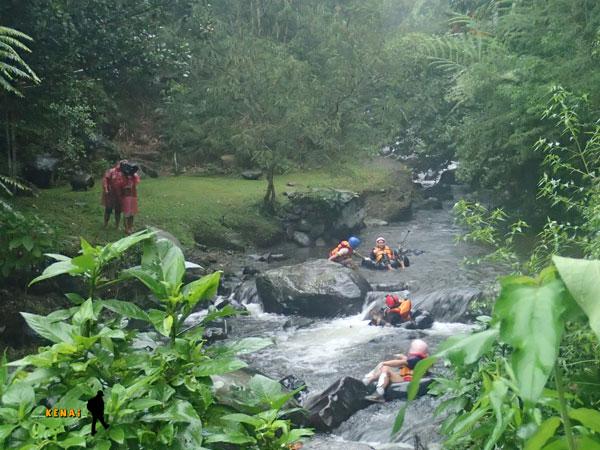 river tubing, tanakita riverside