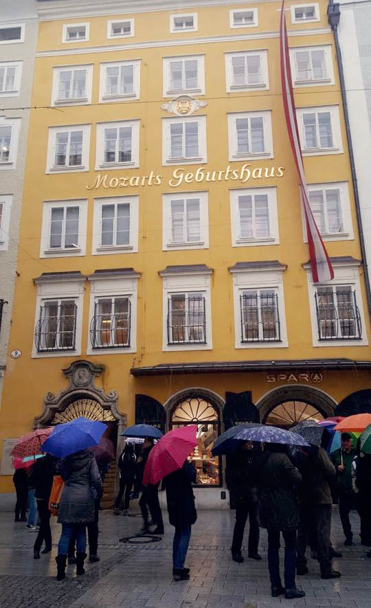 Mozarts Geburthaus
