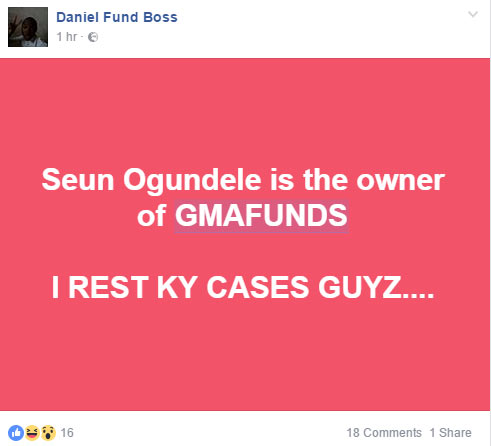 MMM clone GMAfunds crashes as alleged Nigerian owner flees to Dubai