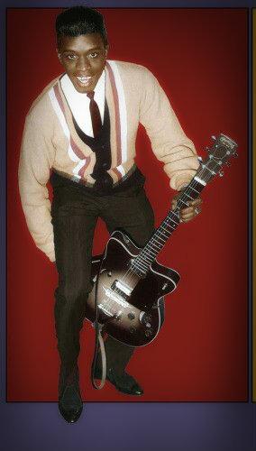 """17th may 1996, yokohama, japan. FROM THE VAULTS: Johnny """"Guitar"""" Watson born 3 February 1935"""