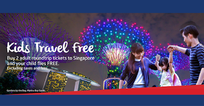 PAL Promo 2016: Kids Travel Free
