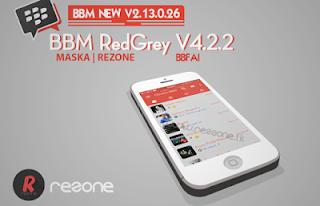 BBM RedGrey 4.2.2 v2.13.0.26