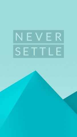 Never Settle Wallpaper High Definition