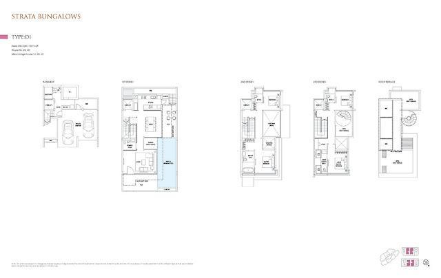 Goodwood Grand Strata Bungalow Floor Plan