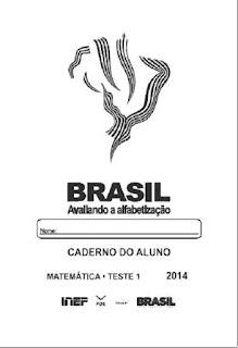 Provinha Brasil de matemática,2014