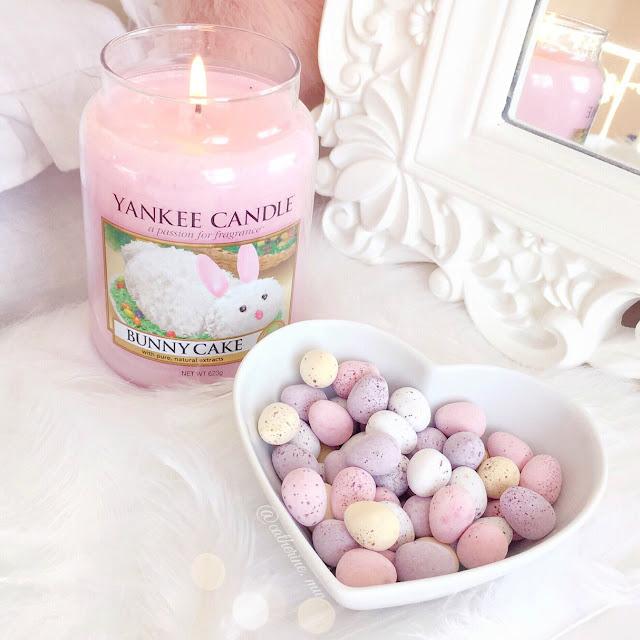 Yankee Candle Bunny Cake & Mini Eggs Chocolates