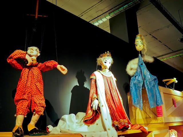 Marionetas contemporáneas del TOPIC de Tolosa