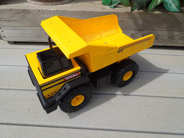 Stuff Room Galore-ious Tonka Truck And