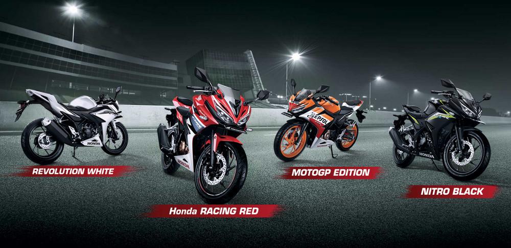 Pilihan Warna All New Honda CBR150R