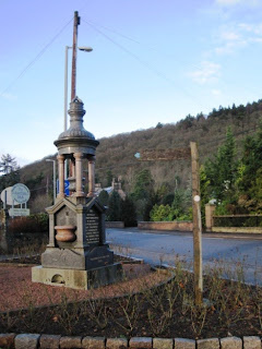 7 Bridges Trail sign, Ballater, Deeside walks