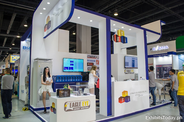 Genikos trade show display