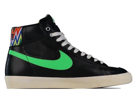 84f98247e673 shopping nike blazer mid black green zig zag print 1 01114 b4a52