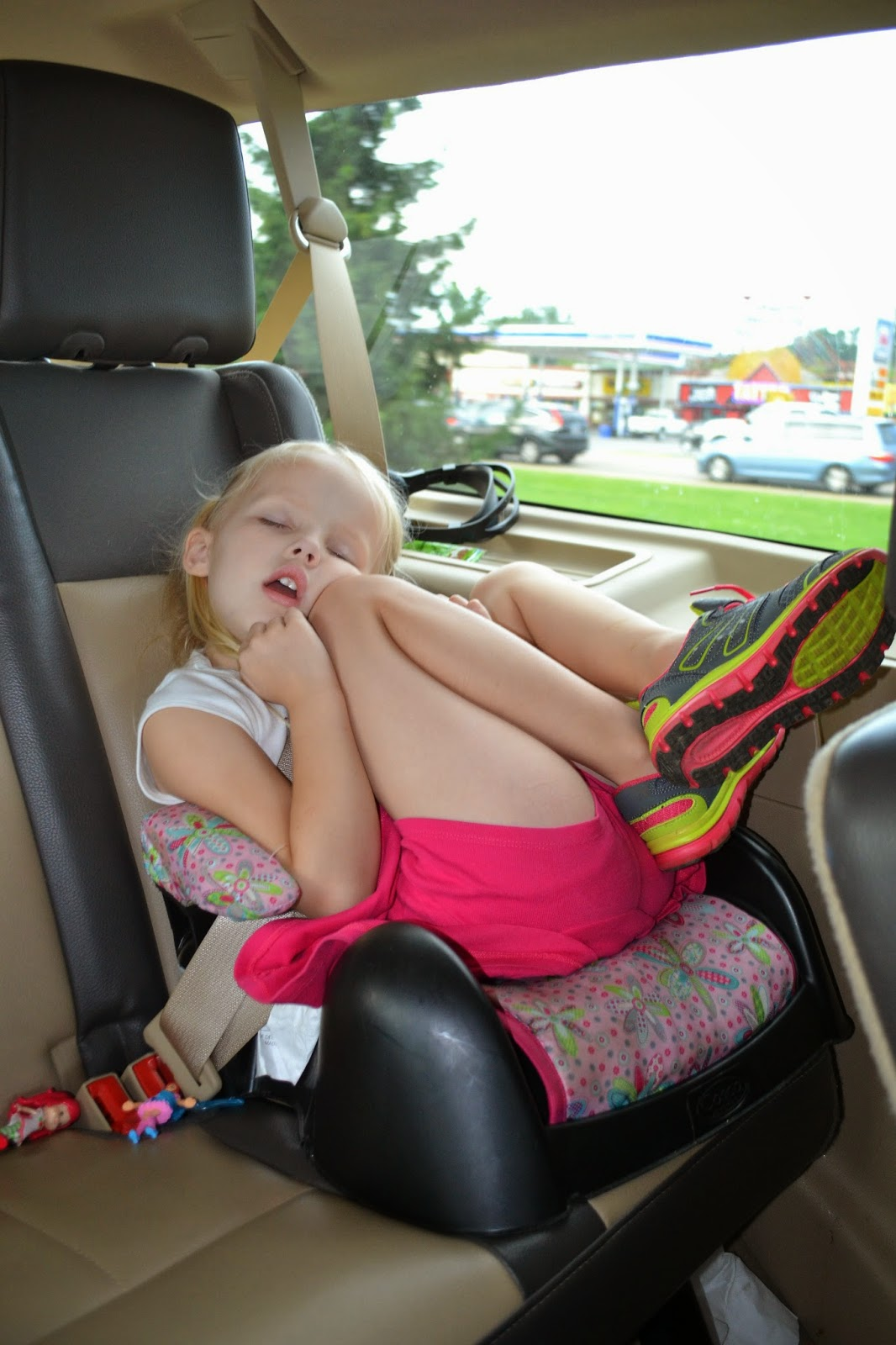 Cades Cove wore her out!