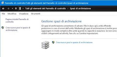 spazi archiviazione