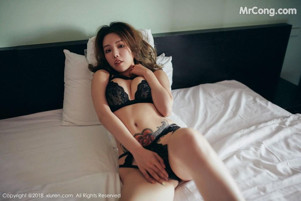 Image XIUREN-No.1200-Huang-Le-Ran-MrCong.com-008 in post XIUREN No.1200: Người mẫu Huang Le Ran (黄楽然) (54 ảnh)