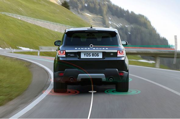 Sistema Torque Vectoring del Range Rover Sport