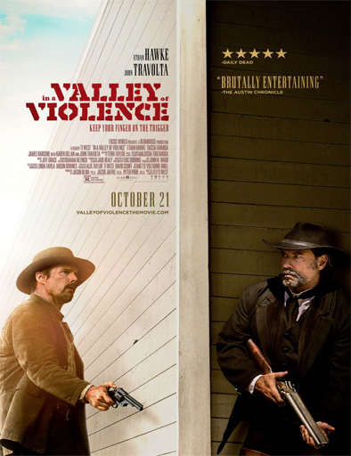 Ver In a Valley of Violence (2016) Online