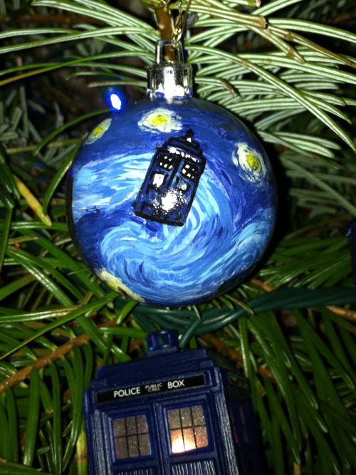 Doctor Who Christmas Lights