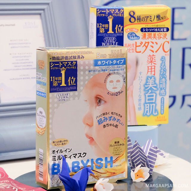 Kose Cosmeport Clear Turn Precious Mask