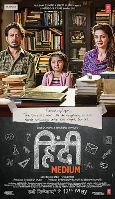 Hindi Medium 2017 Hindi 720p HDRip 600mb HEVC x265