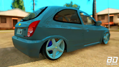 Mod , carro, Chevrolet Celta 2013 para GTA San Andreas, GTA SA