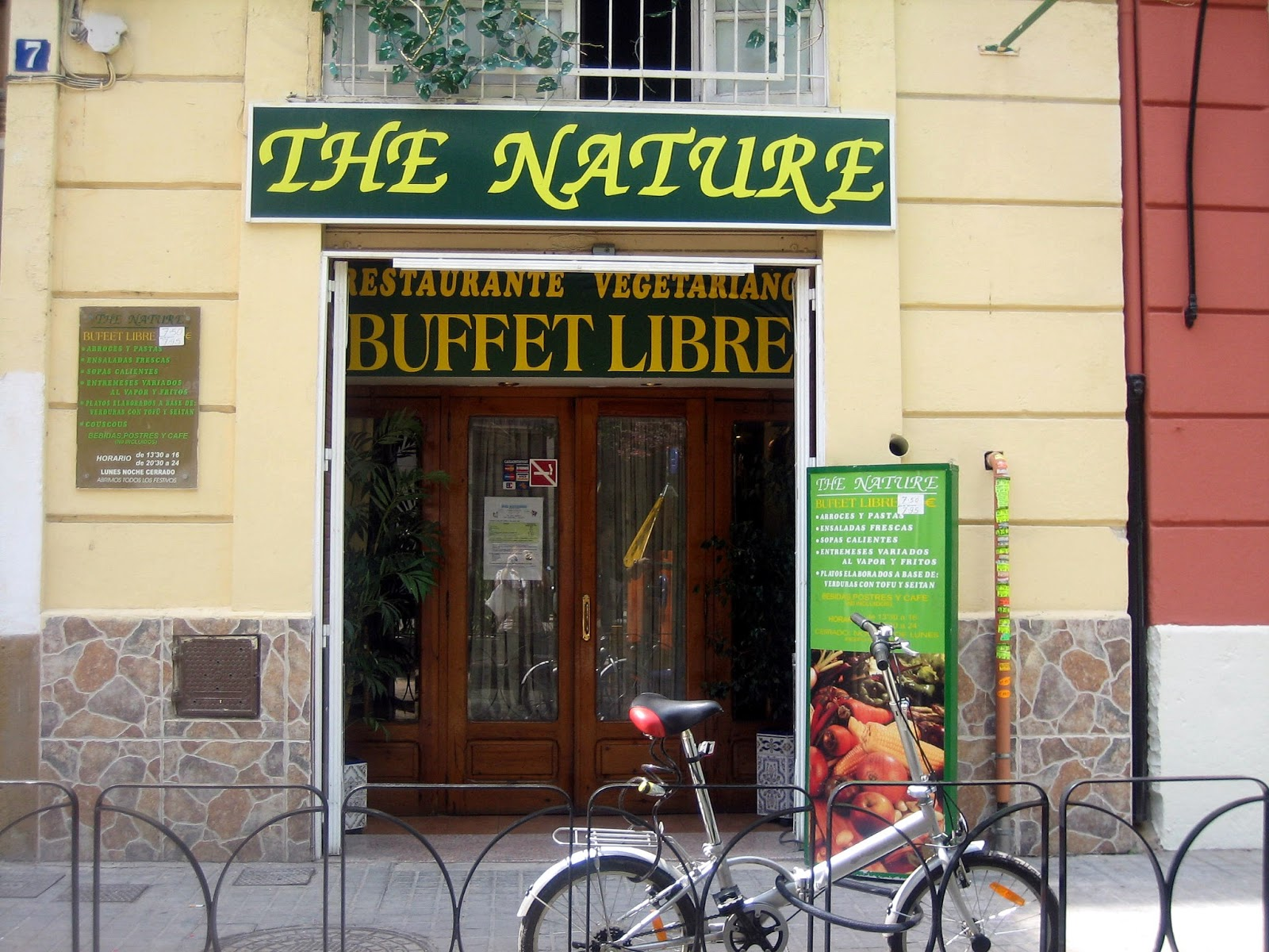 Buffet Libre Granada Barato The Nature Buffet Libre Vegetariano Valencia