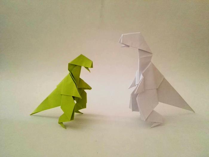 Libro Origami Dinosaurios Origami al alma