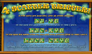 Lucky6 Slot 4 Scatters trigger 8 Free Spins