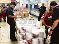 Pasar Raya Berhadapan Tindakan Denda RM3 Juta