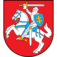 Logo Gambar Lambang Simbol Negara Lituania PNG JPG ukuran 200 px