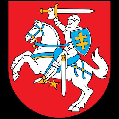 Coat of arms - Flags - Emblem - Logo Gambar Lambang, Simbol, Bendera Negara Lituania