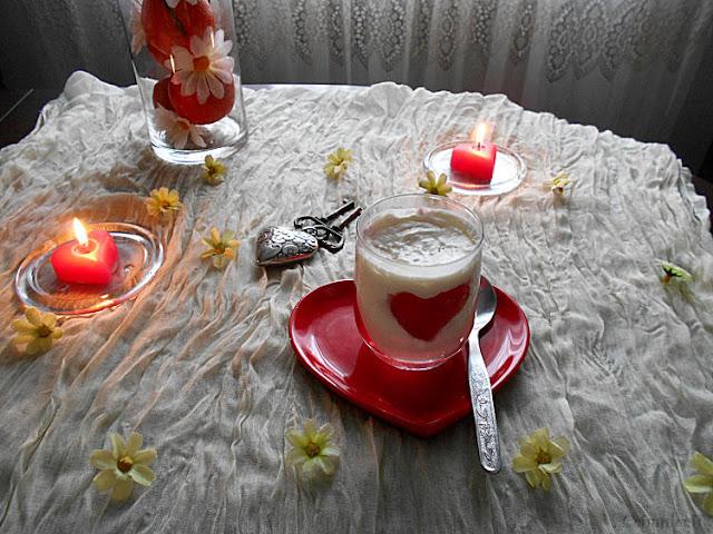 mousse e gelatina