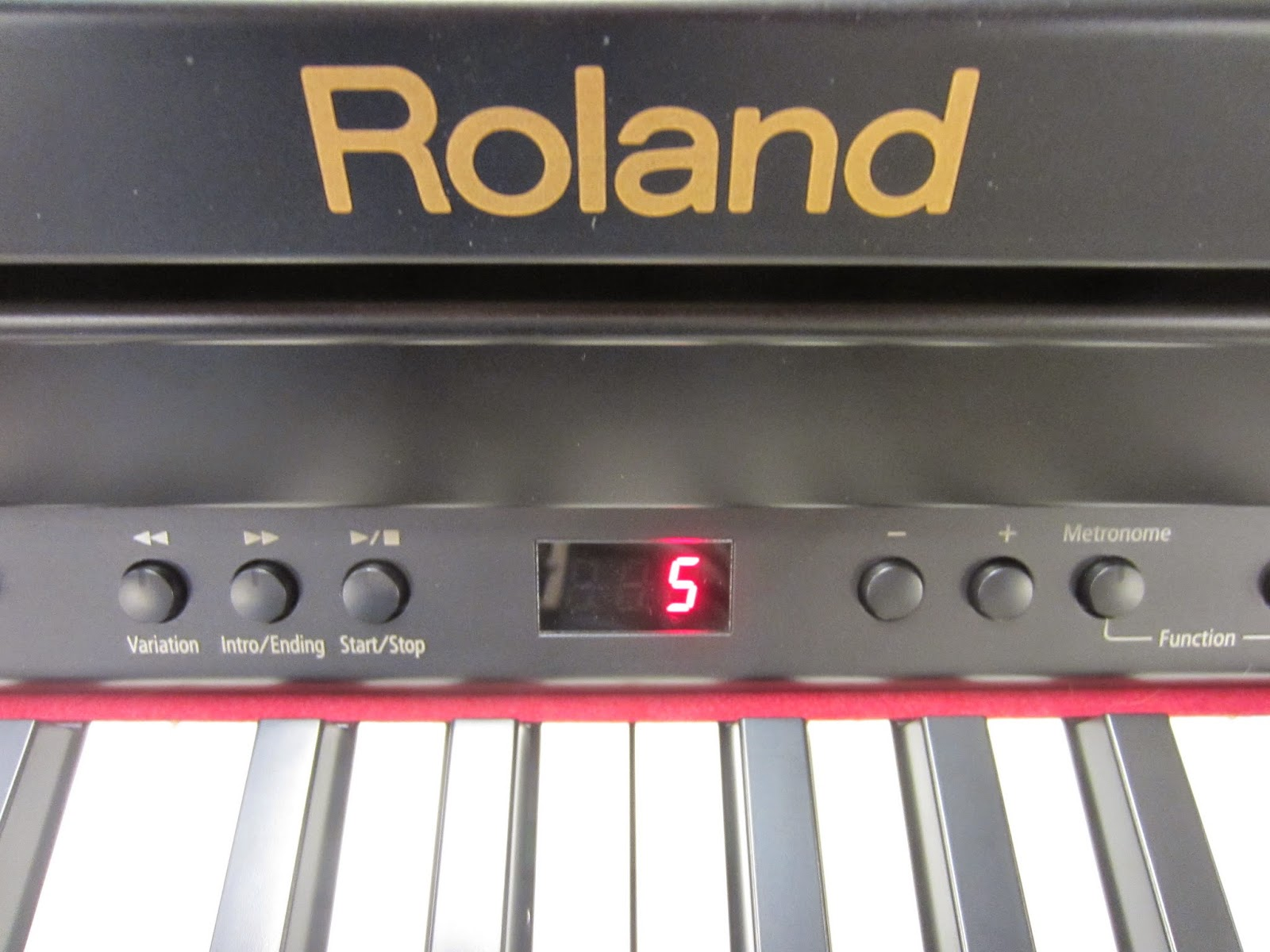 Roland RP401R and Roland F130R digital pianos